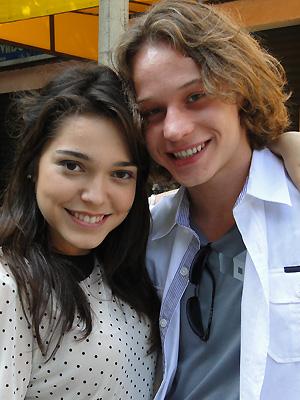Os atores acreditam que não há barreiras, quando se ama de verdade (Foto: Malhação / TV Globo)