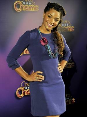 Juliana se prepara para interpretar Dinha (Foto: Renato Rocha Miranda / TV Globo)