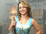 Leandra Leal na pele de Rosário, a idealista (Cheias de Charme/ TV Globo)