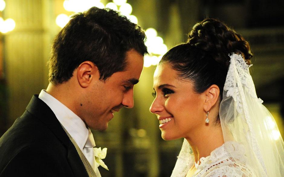 Vicente e Claudia esperaram muito por esse momento durante toda a recuperação dele