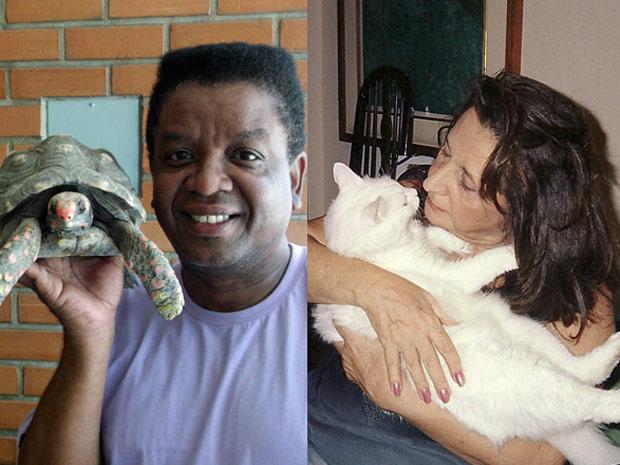 Considerados parte da família, animais ganham carinho e cuidados do elenco (Aquele Beijo/TV Globo)