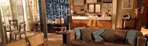 Conheça mais sobre o estilo dos apartamentos de Vicente e Brigitte (Aquele Beijo / TV Globo)