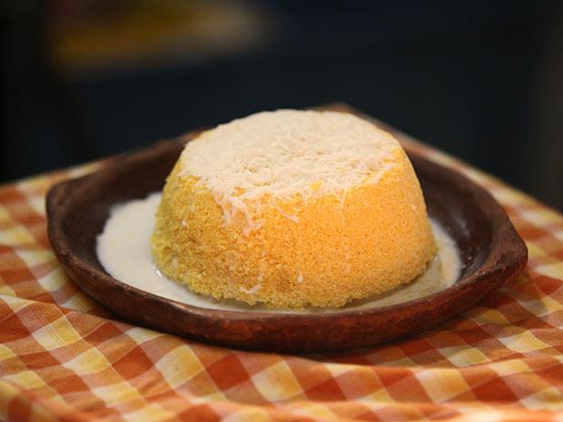 Cuscuz é uma das delícias da culinária marajoara (Foto: Amor Eterno Amor/TV Globo)