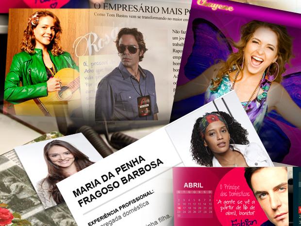 Jogo dos personagens (Foto: Cheias de Charme/ TV Globo)