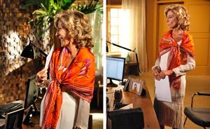 Maruschka teve um dos guarda-roupas mais cobiçados na novela (Aquele Beijo / TV Globo)