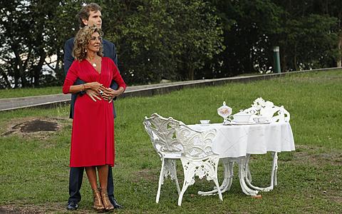 Maruschka encontrou novo amor e foi morar em Londres (Aquele Beijo / TV Globo)