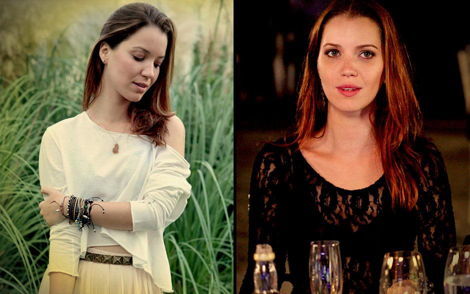 Looks de Débora arrasam tanto de dia como à noite
