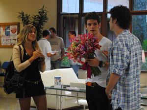 Como sempre, Maria e Kiko acabam discutindo (Foto: Malhação / Tv Globo)