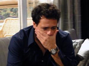Fabiano diz que os dois estão muitos novos para namorar. Filipe fica arrasado (Foto: Malhação / Tv Globo)