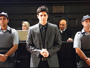 Fred é condenado pelo assassinato de Saulo (Passione / TV Globo)