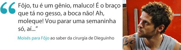Frases da semana: Moisés se preocupa com cirurgia (Foto: Malhação / TV Globo)
