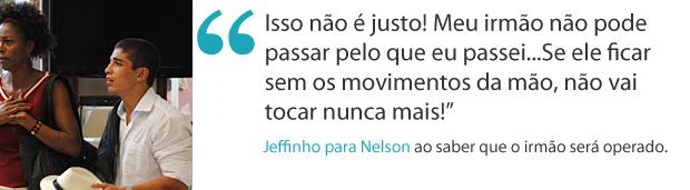 Frases da semana: Jefferson se desespera com acidente (Foto: Malhação / TV Globo)