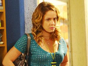 É, Rosário, não foi dessa vez (Foto: Cheias de Charme / TV Globo)