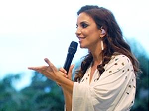 Ivete grava participação (Foto: Divulgação/TV Globo)
