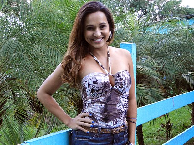 Thaíssa Carvalho conseguiu papel pela insistência (Foto: Malhação / TV Globo)