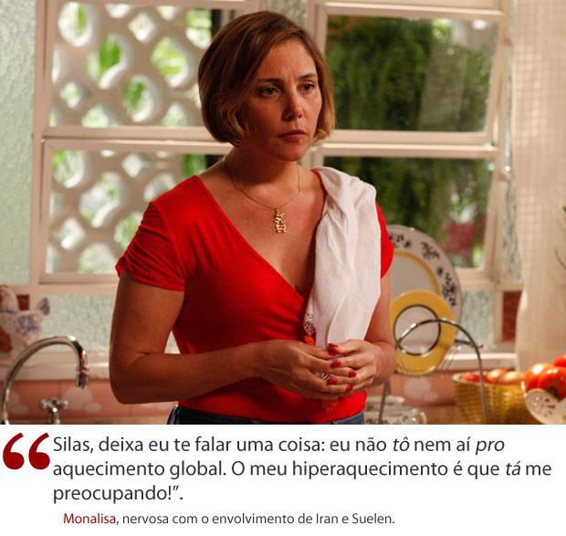 Frase da semana Monalisa (Foto: Avenida Brasil / TV Globo)