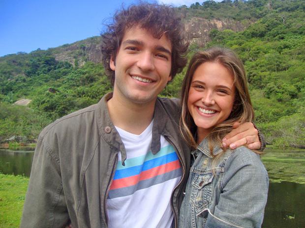 A parceria se repete! Juliana faz participação em Cheias de Charme e grava novamente ao lado de Humberto Carrão (Foto: Cheias de Charme/ TV Globo)