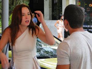 Débora chora e Jeffinho pede perdão (Foto: Malhação / Tv Globo)