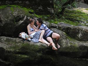 Finalmente, os dois começam a namorar (Foto: Malhação / Tv Globo)