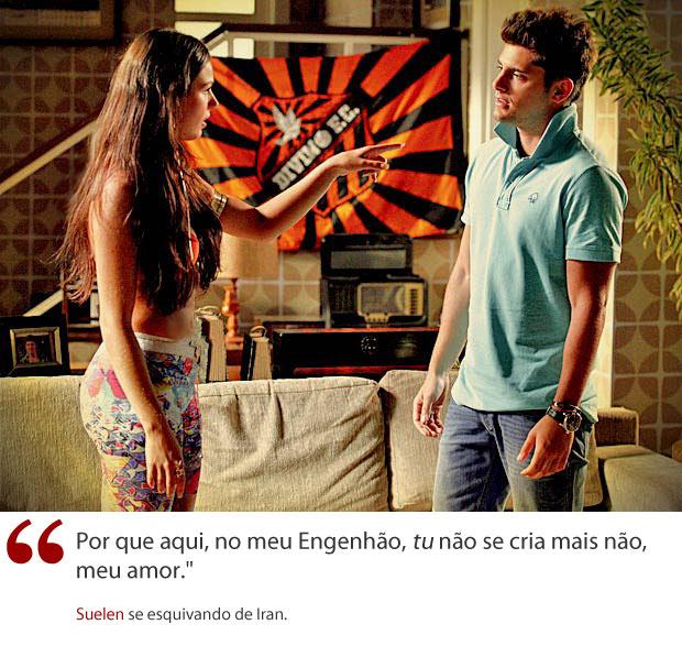 VALE ESTE Template Frases Suelen (Foto: Avenida Brasil / TV Globo)