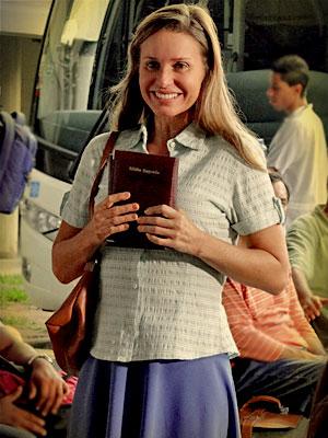 Paula Burlamaqui como Dolores (Foto: Avenida Brasil/ TV Globo)
