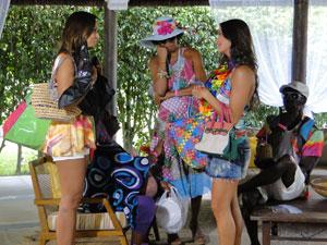 Luana chama Timtim para conversar sobre Kiko (Foto: Malhação / Tv Globo)