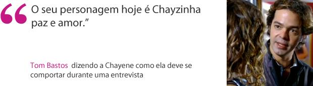 Frase Tom (Foto: Cheias de Charme / TV Globo)