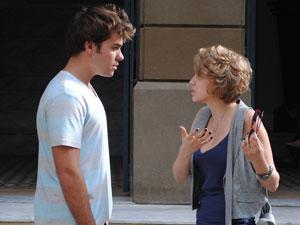Babi dá um fora no ex e diz que está feliz com Guido (Foto: Malhação / Tv Globo)