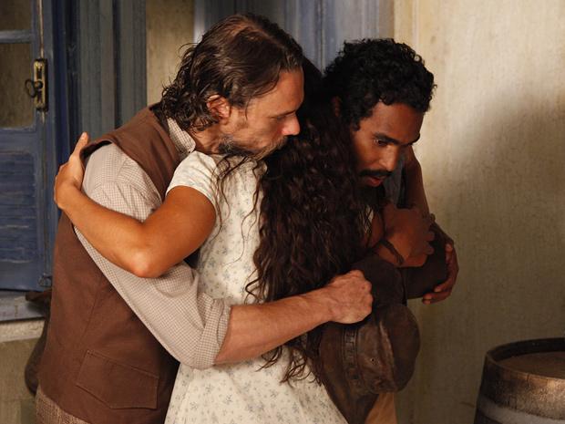 Clemente pede Gabriela em casamento