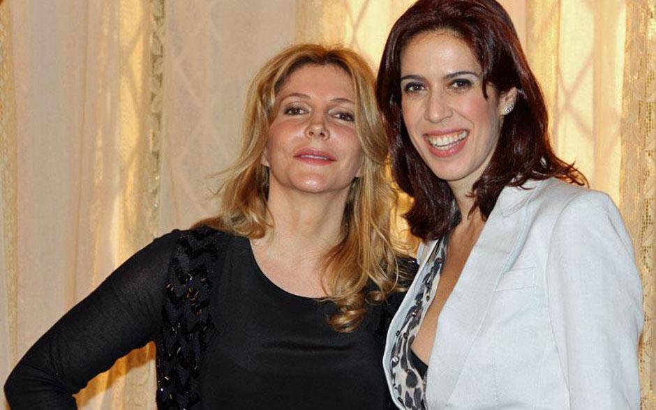 Maria Padilha e Maria Clara Gueiros vão contracenar bastante, respectivamente como a atriz Diva Celeste e a camareira Neusinha