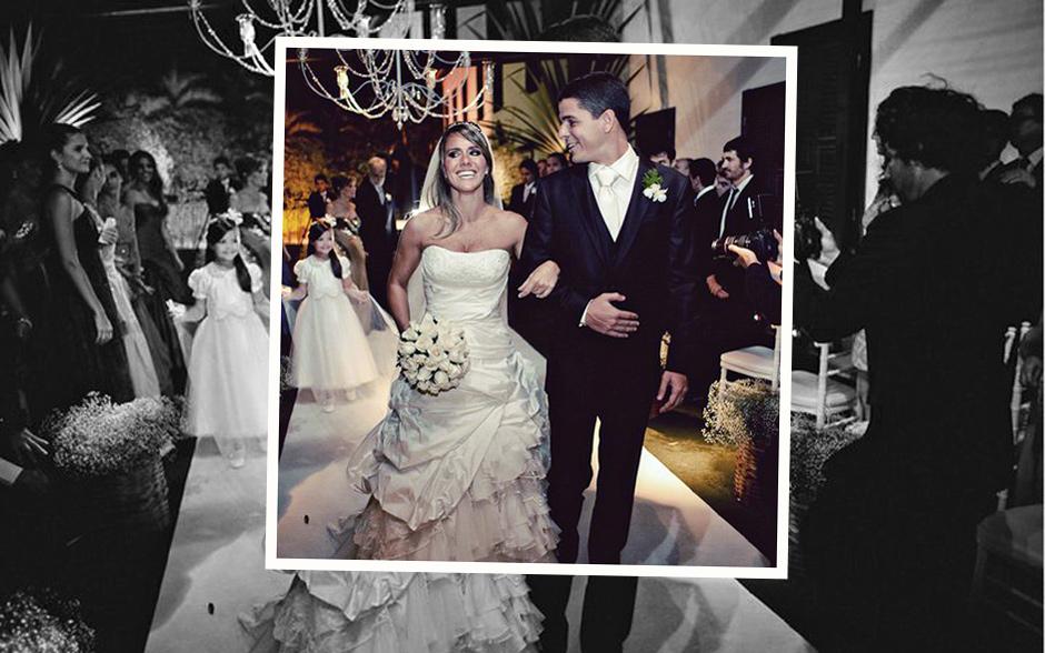 Segundo a estilista, o vestido do casamento de Fernanda tinha o estivlo de uma princesa moderna