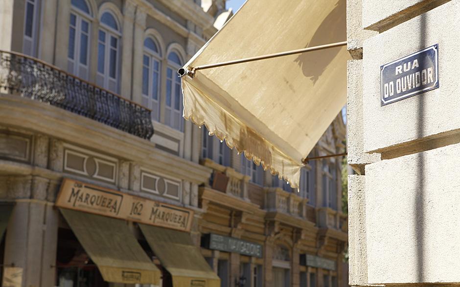 A Rua do Ouvidor de Lado a Lado foi inspirada em fotos e relatos do início do século