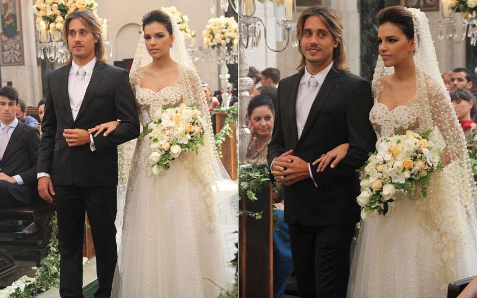 Que emoção! Pepeu e Drika agora estão casados!