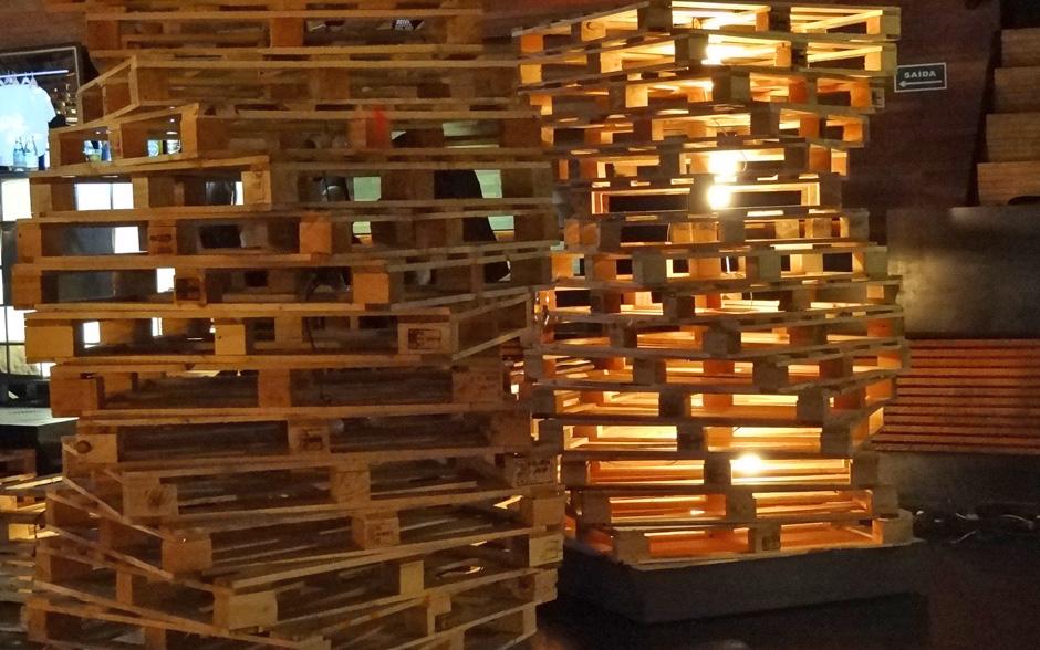Estruturas de madeira dão charme e personalidade