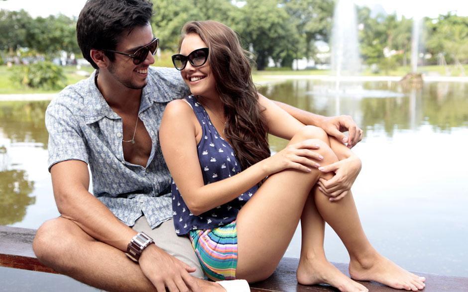 Rodrigo vive o universitário Bruno e Louise interpreta a estudiosa Luana em Malhação