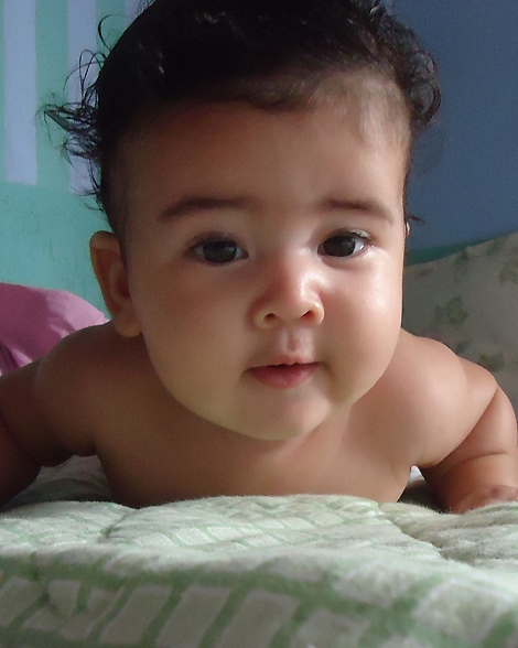 Anthony Ricardo, de Rio Branco/AC, nasceu em 25/05/2013. É filho de Eliana e Sérgio Roberto.
