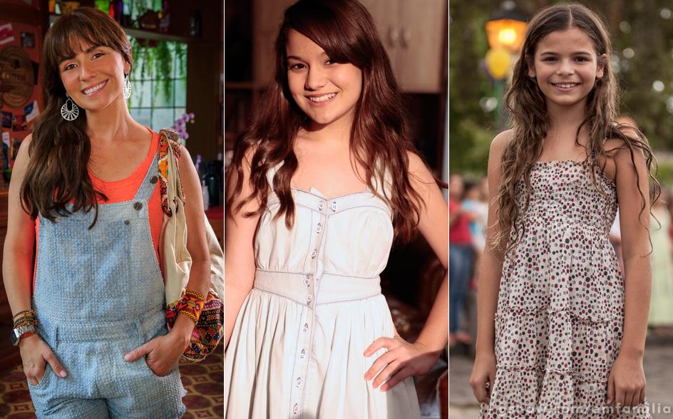 Giovanna Antonelli está de volta à TV com uma personagem que promete: Clara! Na primeira fase, ela será vivida por Luana Marquezine e, na segunda, por Karize Brum