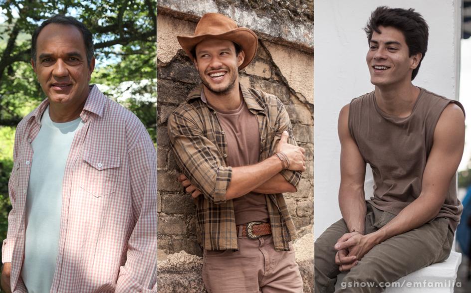 Humberto Martins será Virgílio na trama. Sua juventude será vivida pelo ator Fernando Rodrigues e por Arthur Aguiar