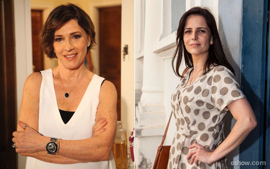 Natália do Vale será Chica. Juliana Araripe interpretará a mãe de Helena na primeira e segunda fase da novela.