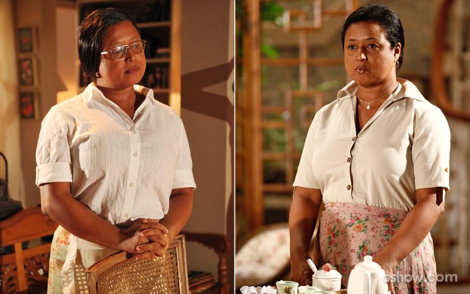 Tânia Toko será Rosa, empregada da família de Chica, mãe de Helena. A atriz permanece na trama nas três fases da novela.
