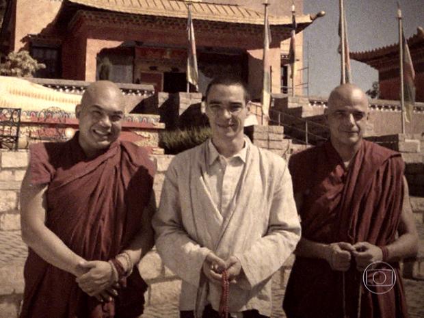 Tenpa, Jampa e o lama Sonan fundaram o primeiro templo budista tibetano do Brasil e seguiram trabalhando nas obras sociais de Iolanda