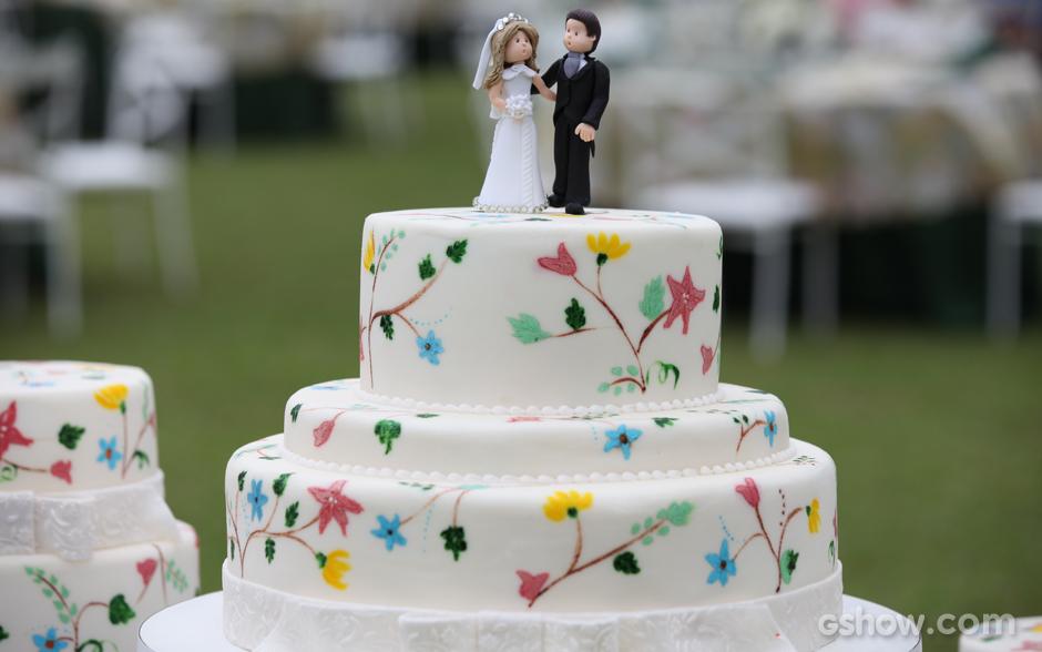 Confira a decora o que rolou no casamento triplo do for Abelard decoration