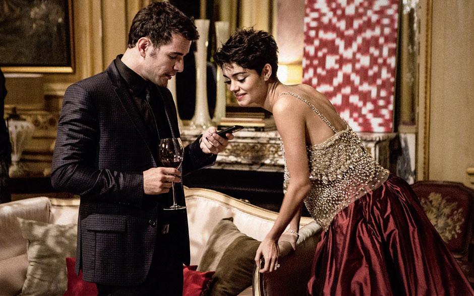 O casal Daniel de Oliveira e Sophie Charlotte deu o que falar como os protagonistas Bruno e Duda