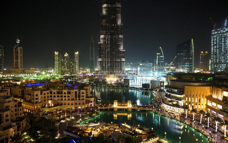 Dubai é deslumbrante, uma ótima cidade para se conhecer de dia e de noite!