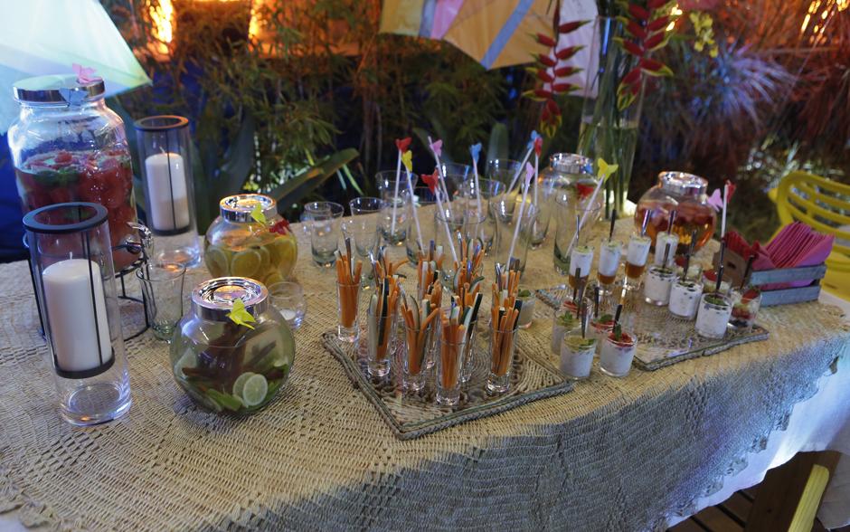 decoracao festa glow:Fotos! Veja a decoração da festa de inauguração do quiosque Majeff