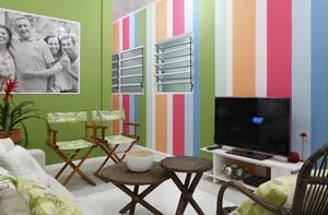 Veja como ficou a nova casa do Seu Genival e Dona Lindinalva (divulgação/tv globo)