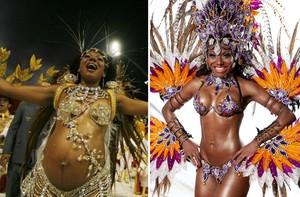 Finalistas contam perrengues que passaram por amor ao carnaval (divulgação/caldeirão/tv globo)