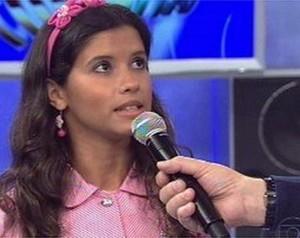 Bianca Carvalho no Quem Fim Levou (Foto: Domingão do Faustão / TV Globo)