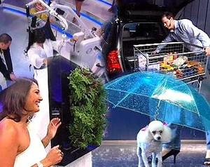 Invenções apresentadas no programa (Foto: TV Globo)