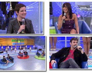 Famosos participaram do quadro (Foto: Domingão do Faustão / TV Globo)
